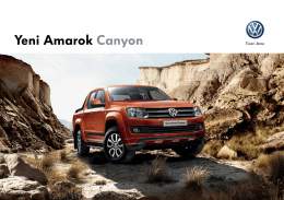 Yeni Amarok Canyon - Volkswagen Ticari Araç