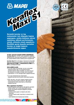 Keraflex Maxi S1 Keraflex Maxi S1