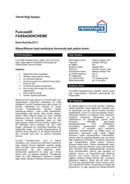 Funcosil® FASSADENCREME