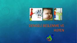 Beslenme ve hijyen - Yenimahalle Pınar Ortaokulu