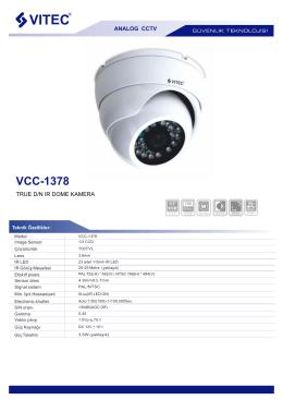 VCC-1378 - Bilgi Elektronik