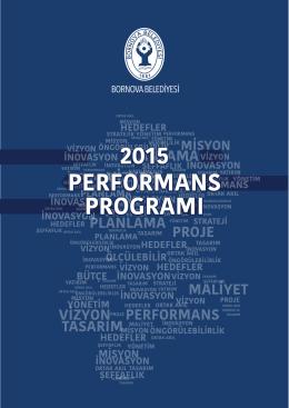 Performans Programı 2015