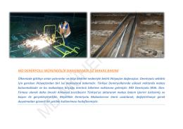md demiryolu mühendislik danışmanlık ile makas