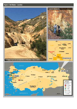 TURKEY - Mariana Resources