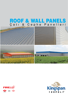 ROOF & WALL PANELS