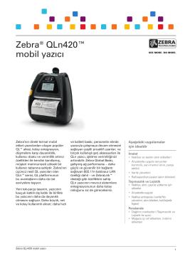 DÖKÜMAN İNDİRQLn 420-Teknik Özellikleri-Türkçe