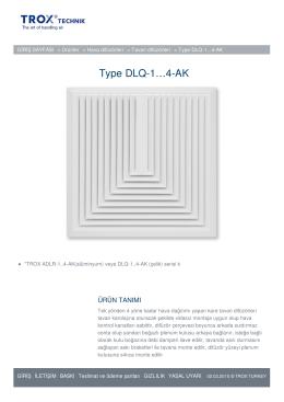 Sayfayı yazdır Type DLQ-1...4-AK Link