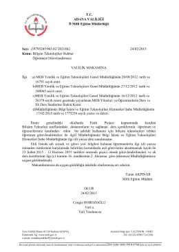 Java Printing - Adana Milli Eğitim Müdürlüğü