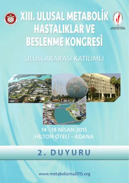 Prof. Dr. Alev Hasanoğlu - 13. Ulusal Metabolik Hastalıklar ve