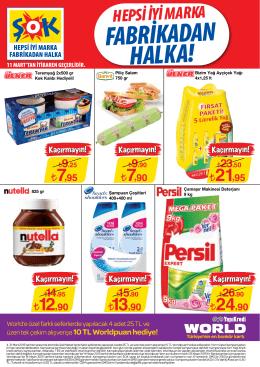 FABRİKADAN HALKA!