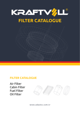 FILTER CATALOGUE