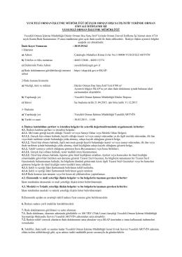 İLAN (15).pdf - Orman Genel Müdürlüğü