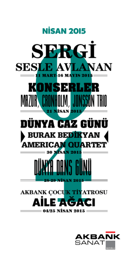 SERGİ - Akbank Sanat