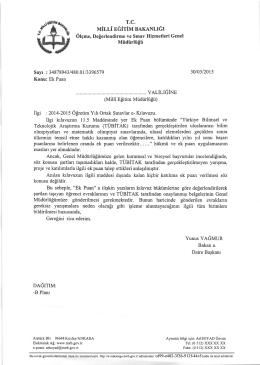 Ek Puan Bakanlık Yazısı 30.03.2015.pdf