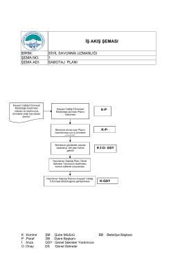 sabotaj planı iş akış formu