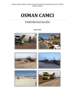 e-katalog - Osman Camcı