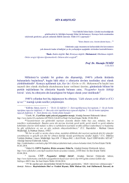 Din Karşıtlığı (pdf)
