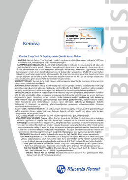 Kemiva - Mustafa Nevzat İlaç Sanayi