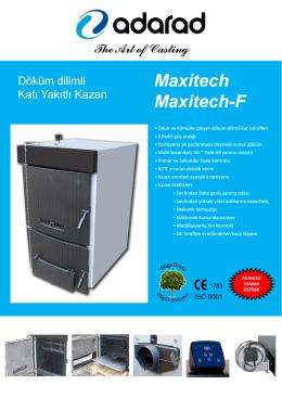 Maxitech Maxitech-F - ADARAD Döküm Ürünleri A.Ş.