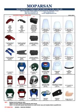 Tüm Ürünler Fiyat Listesi