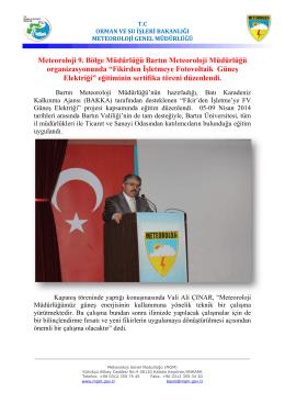 Fikirden İşletmeye FV GES Eğitimi - Ankara