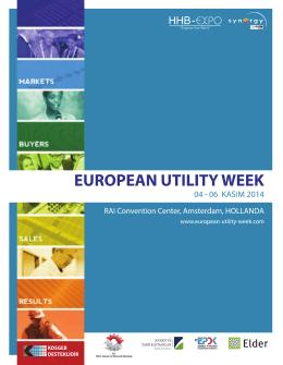 Utility Week Delege Programı