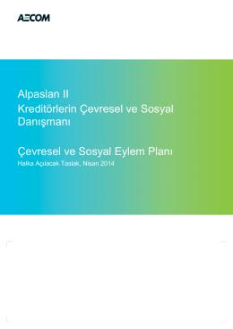 Alpaslan II Çevresel ve Sosyal Eylem Planı