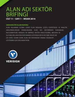Nisan 2014: Alan Adı Sektör Brifingi