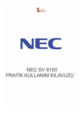 Nec Handy User Guide