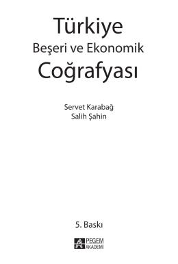 Türk ye Coğrafyası