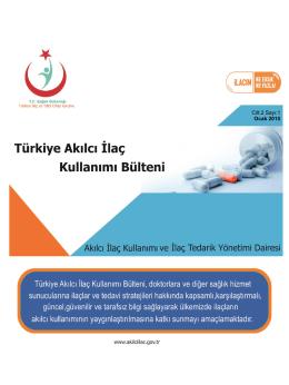 bltn 4 - Akılcı İlaç Kullanımı