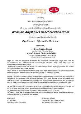 Verein für Psychiatrie und seelische Gesundheit e