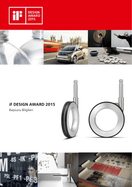 6-) iF DESIGN AWARD 2015
