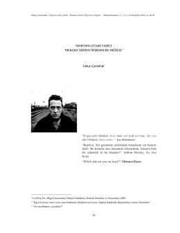 Tam metin için tıklayınız. (PDF)