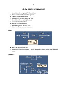 bölüm-6 blok diyagramları