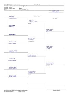 2014 ETV Senior Klasman Tenis Turnuvası