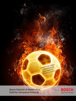 Bosch Elektrikli El Aletleri 2014 Eylül Ayı Kampanya Kitapçığı