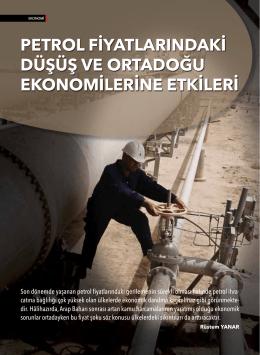 petrol fiyatlarındaki düşüş ve ortadoğu ekonomilerine etkileri