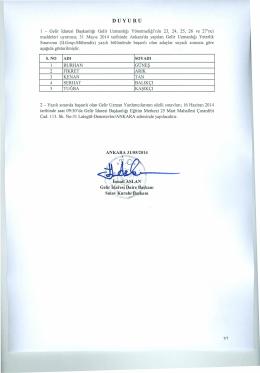 2.Grup - Gelir İdaresi Başkanlığı