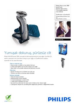 RQ1151/16 Philips Aquatec Islak ve Kuru Tıraş özellikli elektrikli