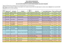 1314BVMS - Akhisar Meslek Yüksekokulu