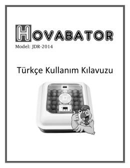 Türkçe Kullanım Kılavuzu