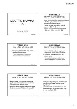 Multiple travma 2 - acil tıp sitesi