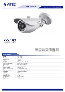 VCC-1369 - Bilgi Elektronik