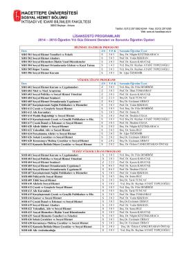 PDF Belges - Sosyal Hizmetler