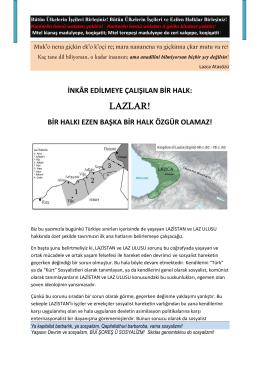 LAZLAR! - İstanbul Indymedia
