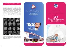 Manyetik Rezonans Görüntüleme(MRG)