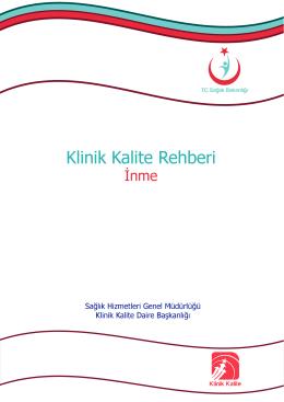 Klinik Kalite Rehberi-İnme