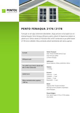 PENTO FENAQUA 2176 / 2178