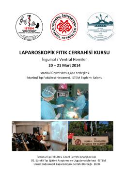 laparoskopik fıtık cerrahisi kursu